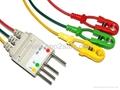 Compatible Nihon Kohden BR-002P 3-LD wires 1