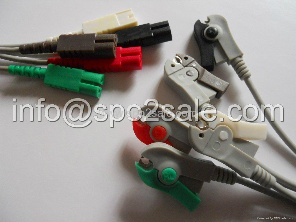 LL 5-lead Grabber ECG leadwires 1