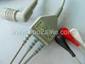 Colin BP88 One piece 3-lead ECG Cable