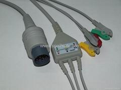日本光电JC-763V三导主电缆