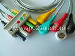 西门子SC9000XL五导扣式导连线
