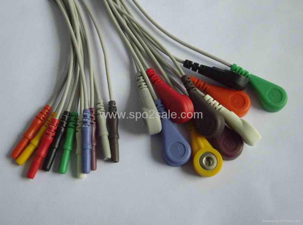 Holter 10-lead DIN1.5 leadwire