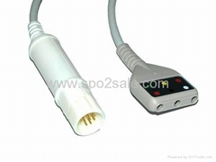 德爾格DIN型3導主電纜