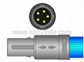 Edan digital redel 5Pin Adult finger clip Spo2 sensor 2