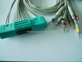 Nihon Kohden 9320K EKG Cable