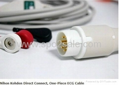 Nihon Kohden Direct Connect, One-Piece ECG Cable