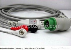Mennen 13Pin Direct Connect, One-Piece ECG Cable