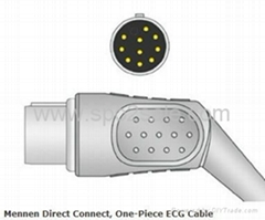 Mennen Direct Connect, One-Piece ECG Cable