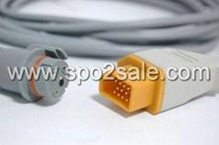 Nihon Kohden 14Pin- BD IBP transducer adapter cable
