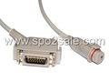 Siemens-BD IBP Cable,DB15M>7Pin Jack