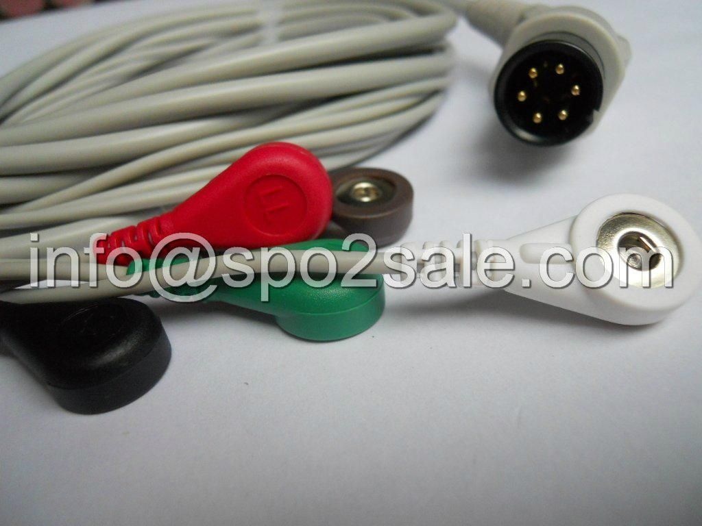 BCI Direct Connect, One-Piece ECG Cable 1