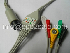 Welch Allyn one piece IEC,Clip ECG Cable