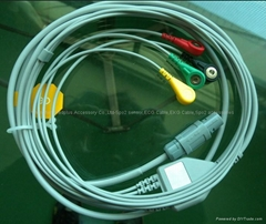 Primedic Defi-Monitor Direct Connect, One-Piece ECG Cable