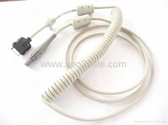GE 2016560-001 CAM 14 Coiled patient cable