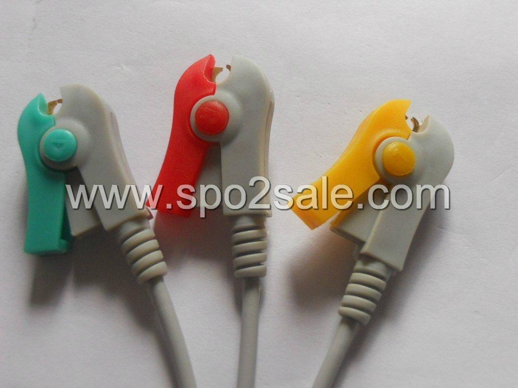 3 leadwires,IEC,Clip