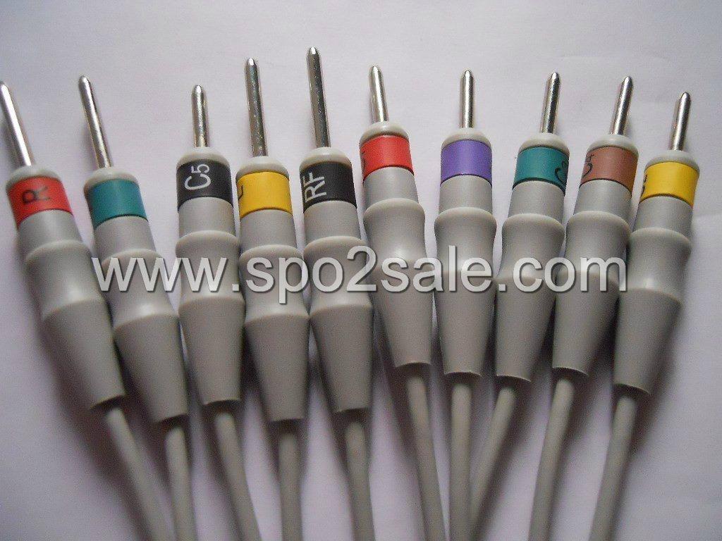 心電導線,歐標,DIN 3.0