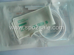 Disposable Neonatal dual tube NIBP cuff, 6-11 cm,No.3