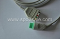 Fukuda 7100/7300 5 lead ECG Trunk cable