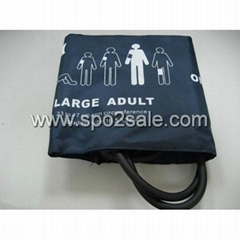 002791 Large adult dual tube NIBP Cuff