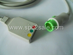 Mindray® Compatible ECG Trunk Cable 0010-30-42719