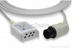 Nihon Kohden® JC-005P Compatible ECG Trunk Cable