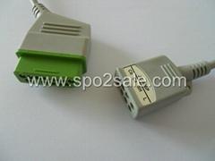 Nihon Kohden JC-906P ECG 3-lead Trunk Cable