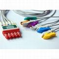 HP M1971A 5-lead IEC grabber leadwire