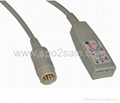 HP M1669A 3-lead AAMI & IEC Trunk Cable 1