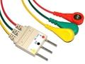 Nihon Kohden BR-546S 3 Leadwires,IEC