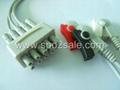 GE 412682-001 3 Leadwires,AHA,Clip