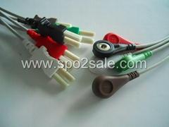 太空700-0007-09扣式5導連線
