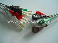 Spacelabs 700-0007-09  5-lead leadwires