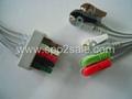 Pro1000 5-lead Grabber ECG leadwires