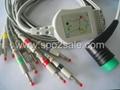 Medtronic Physio Control EKG Cable (Lifepak 12/Lifepak 15/Lifepak 20)