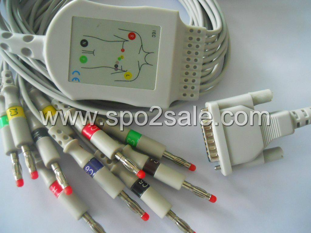 Spacelabs CardioExpress® SL12 EKG Cable 1