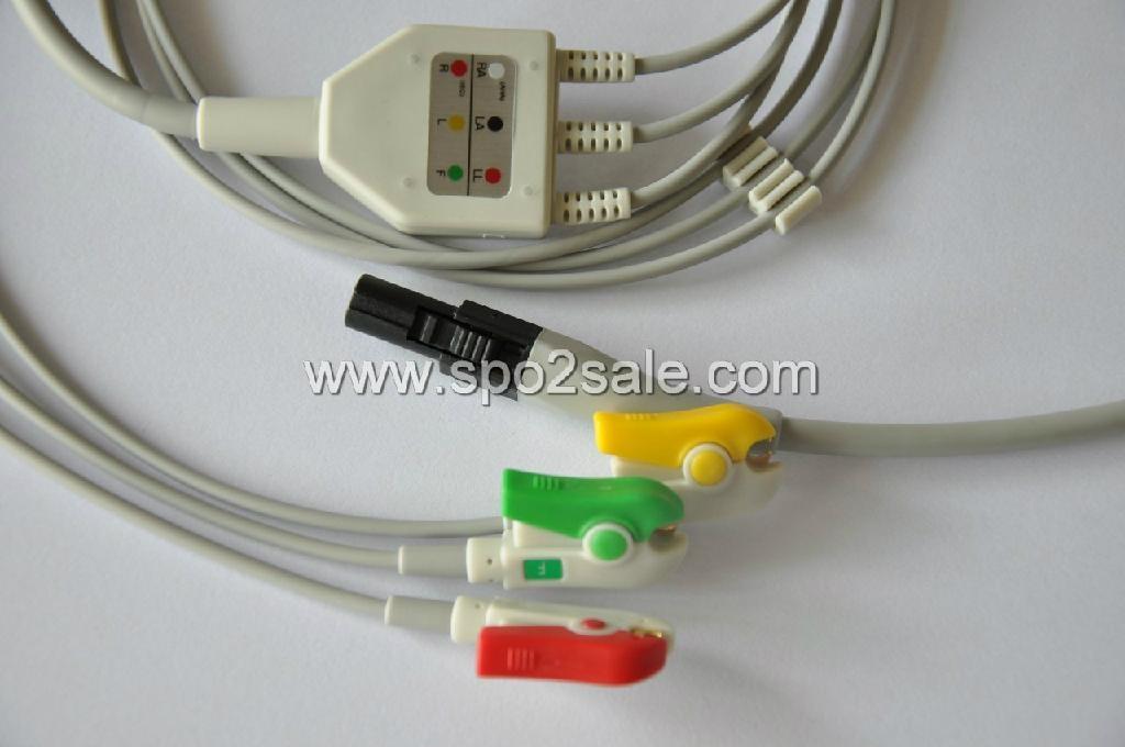 Welch Allyn propaq LT ECG Cable