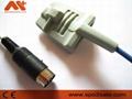 Datascope 0020-00-0071-01 adult silicone soft tip Spo2 sensor 1