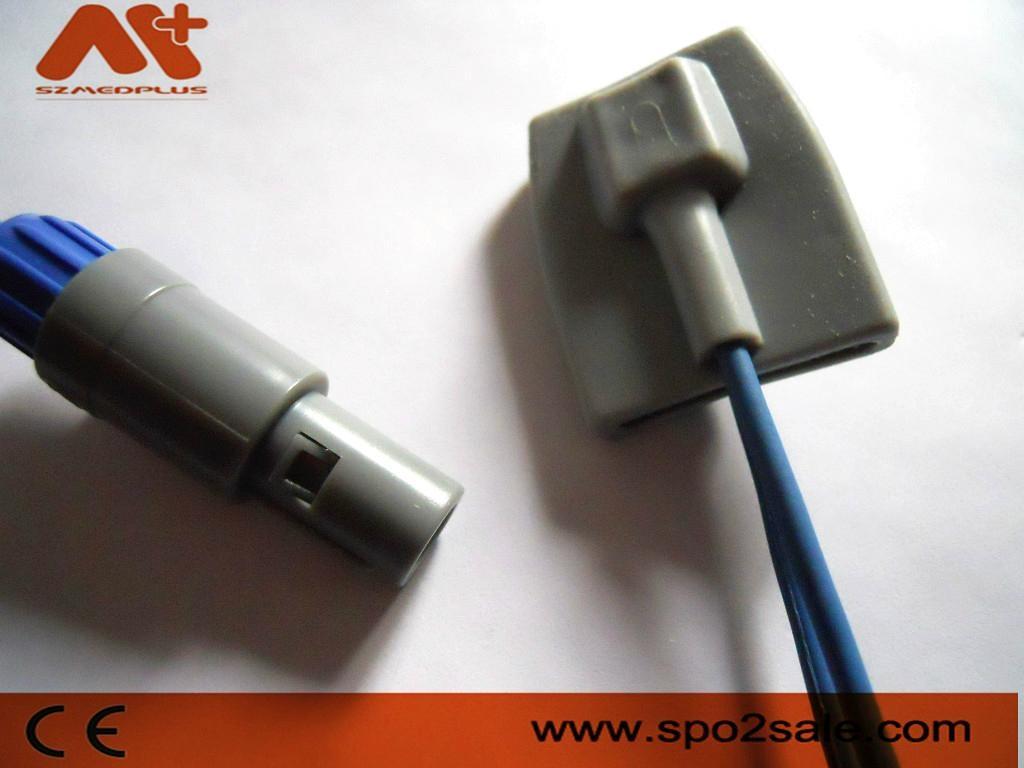 Edan M8 redel 8Pin pediatri soft tip Spo2 sensor