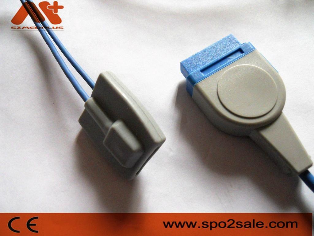 GE Marquette Pediatric soft tip Spo2 sensor 1