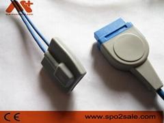 GE Marquette Pediatric soft tip Spo2 sensor
