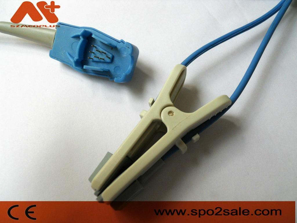 GE OXYTIP OXY-E-UN Adult ear clip Spo2 sensor