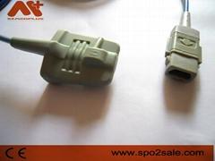 Compatible with GE Datex-Ohmeda Trusat Adult soft tip Spo2 sensor