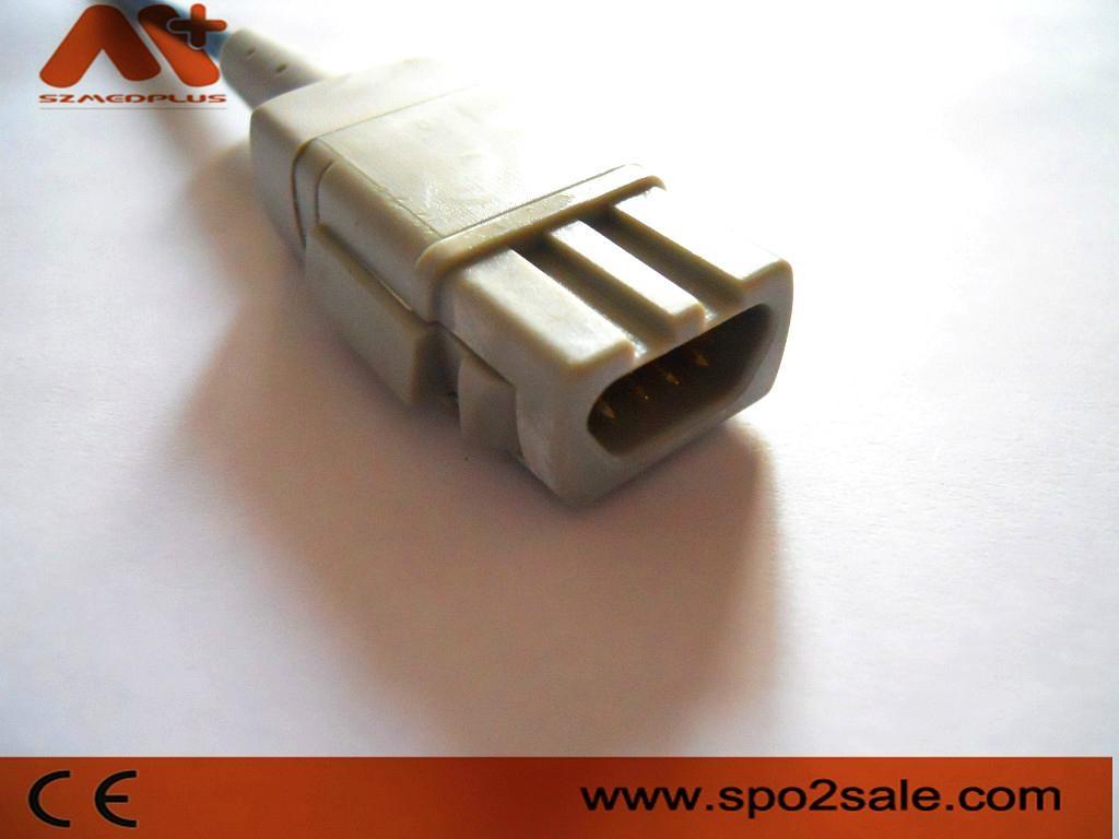 Compatible with GE Datex-Ohmeda Trusat Adult soft tip Spo2 sensor 2