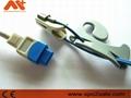 GE Trusignal TS-E-D adult ear clip Spo2 sensor