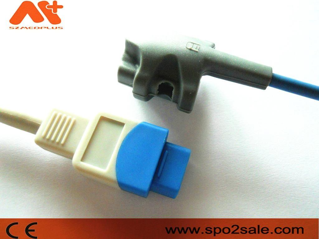 GE Trusignal TS-SP-D pediatric soft tip Spo2 sensor 1