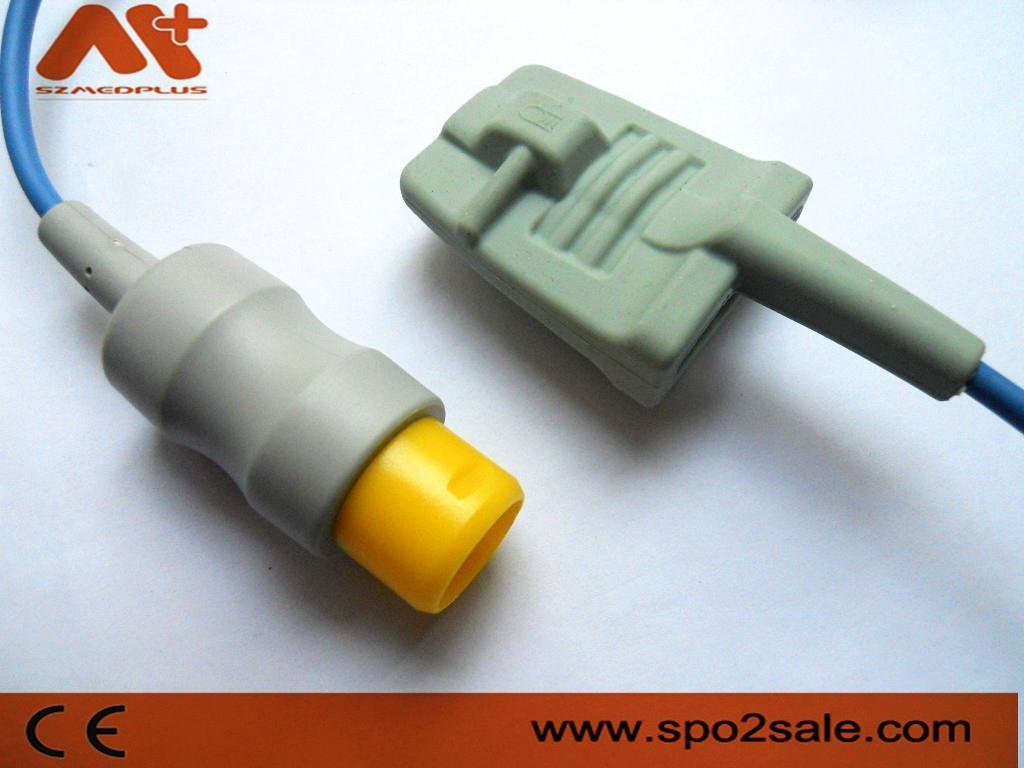 MEK MP1000NT Adult Soft Tip Spo2 sensor 1