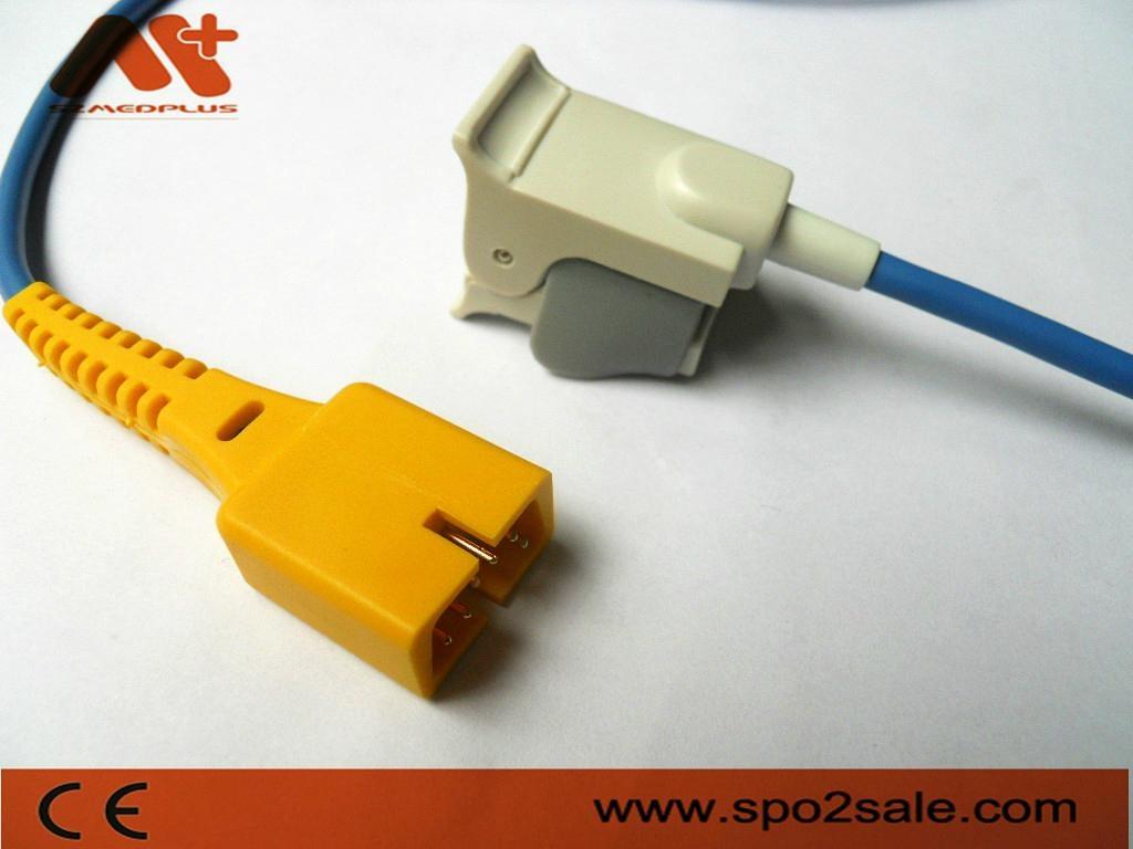 MEK DB9 Pediatric finger Clip Spo2 sensor MP-100/MP110/MP400/MP500/MP600/MP1000
