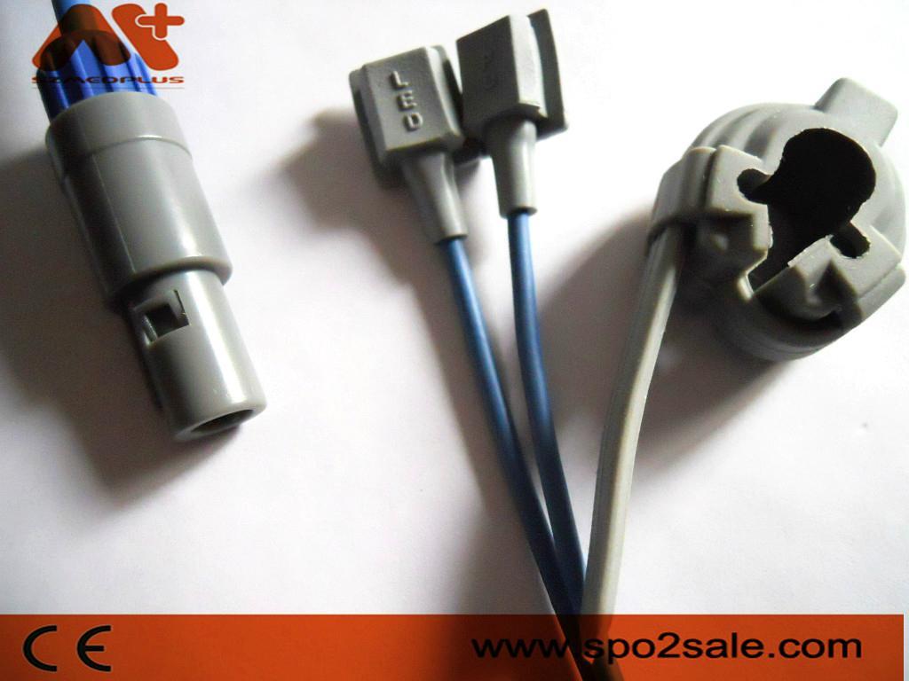 DST DS3000 adult finger clip Spo2 sensor 6