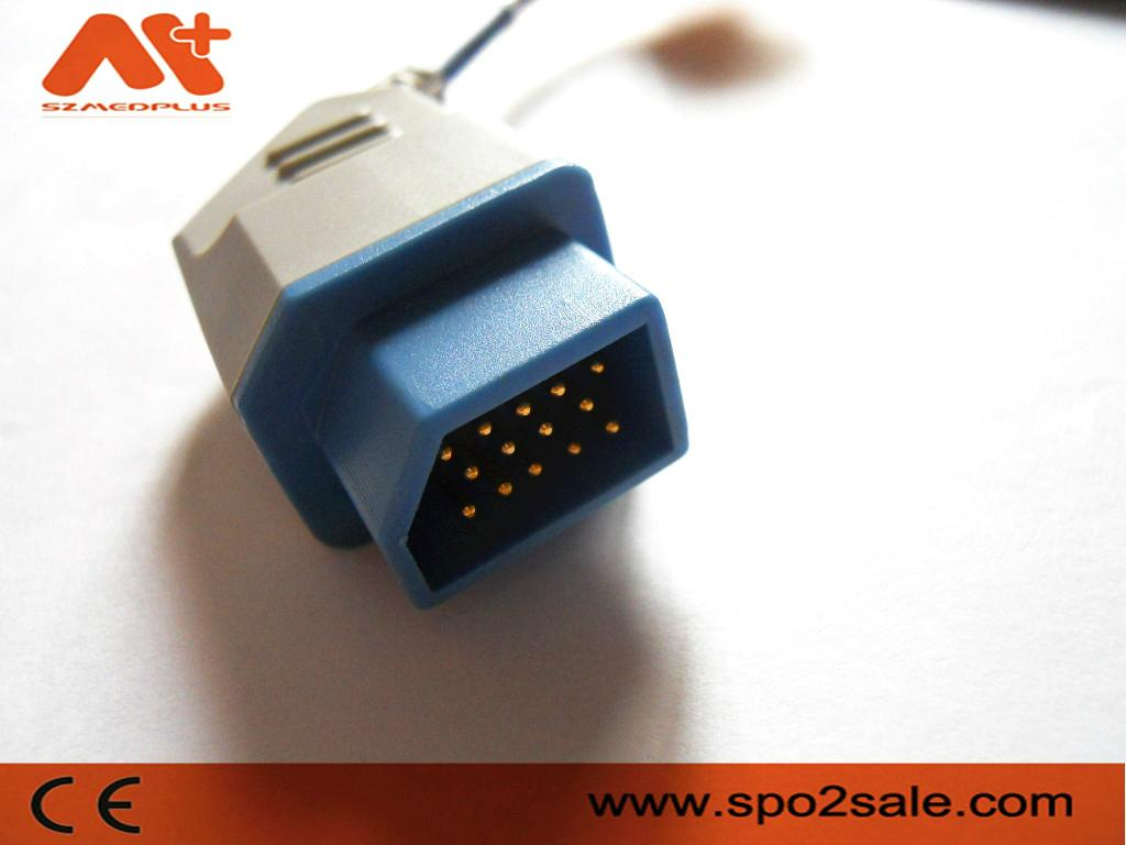 Nihon Kohden TL-201T Pediatric Soft Tip Spo2 Sensor 2