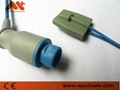 Nihon Kohden TL-101S 10Pin adult finger clip Spo2 sensor 6